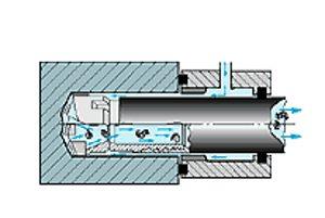 Deep Hole Drilling Illustration