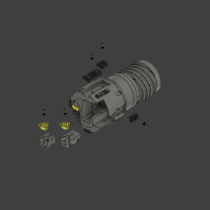 TRITON EXPLODED VIEW