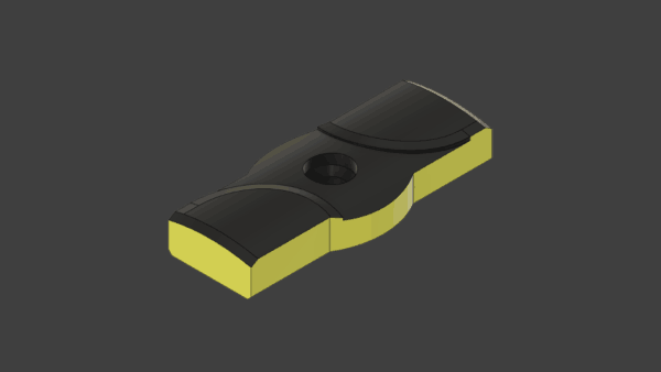CR Solid Carbide Support Pad